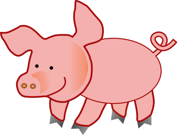 free pig clipart - photo #7