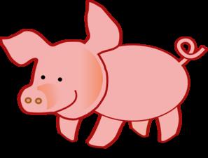 small pig clip art at clker com vector clip art online royalty rh clker com clip art of pigs and cows clip art of pig eating
