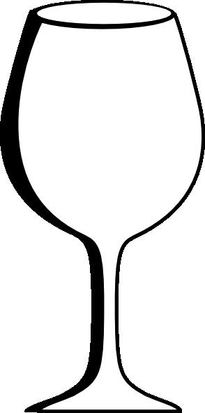 Empty Wine Glass Clip Art at Clker.com - vector clip art ...
