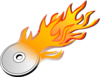 Cd Burn Icon Clip Art