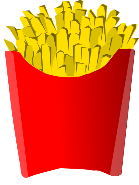 Fries Clip Art at Clke...