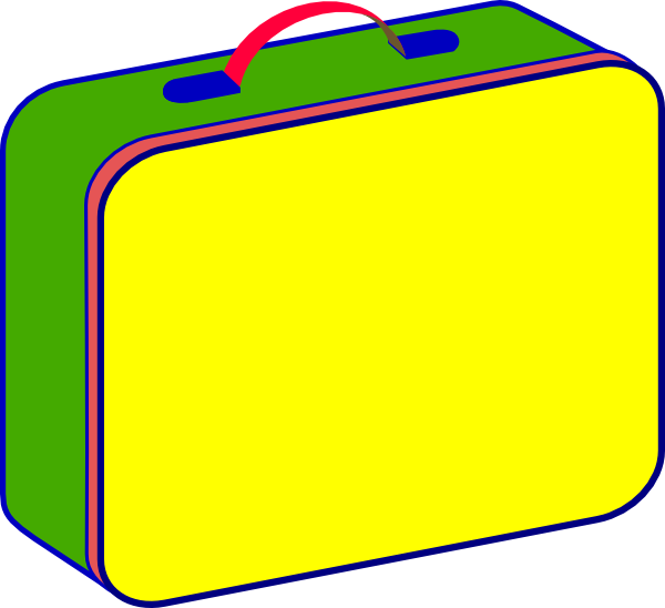 lunch bag clipart - photo #37