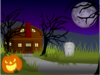 Halloween Haunted House Clip Art