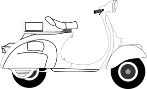 Scooter Clip Art