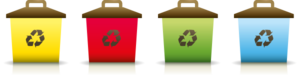 Recycling Containers Clip Art