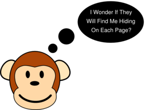Monkey Question Clip Art
