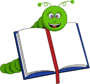 Aufgeschlagenes buch clipart  Bookworm Clip Art at Clker.com - vector clip art online, royalty ...