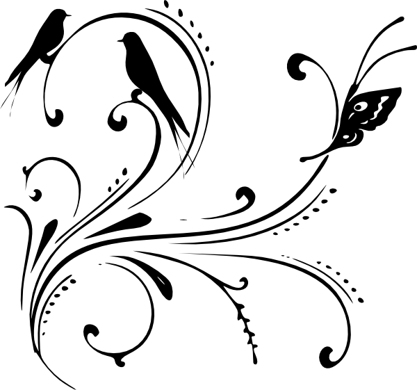 Black Swirl Clip Art At Clkercom Vector Online