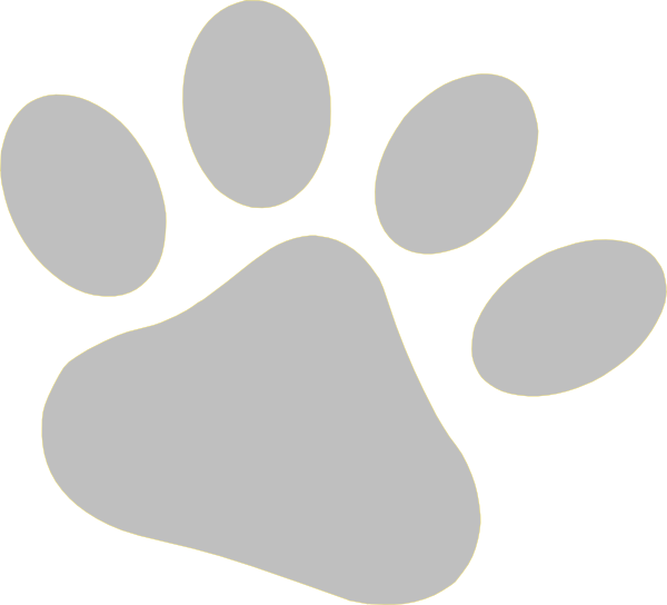Slate Pet Paw Clip Art at Clker.com - vector clip art ...