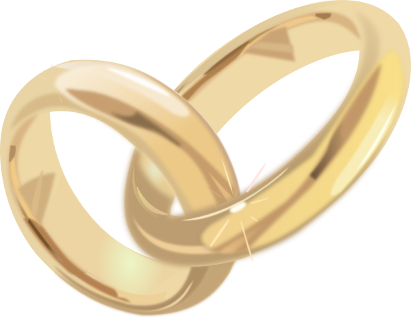 Wedding Rings 2 clip art