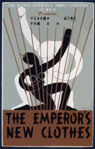 The Works Progress Administration In Ohio Presents The Federal Theatre For Youth In  The Emperor S New Clothes  Clip Art