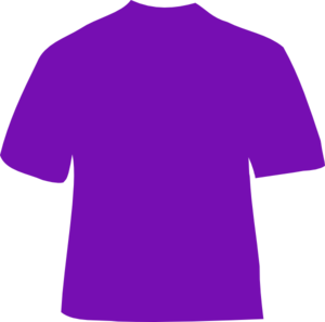 Purple Shirt  Clip Art