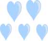 Heart Raindrops Clip Art