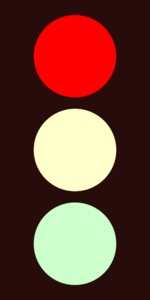 Traffic Light Red Clip Art