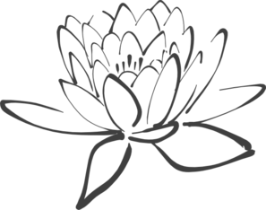 Clip art black and white lotus flower clipart clip art black and white lotus flower clipart 1 mightylinksfo