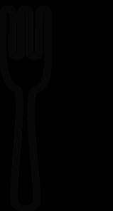 Fork And Knife No Background, Black Clip Art at Clker.com ...