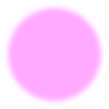 Fuzzy Pink Circle Clip Art