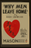 Why Men Leave Home  By Avery Hopwood Clip Art