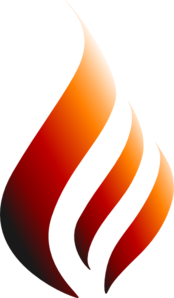 Red Orange Logo Flame Clip Art
