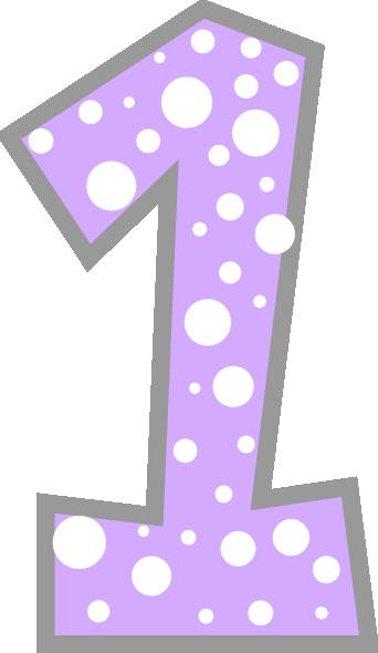 Numbers Purple Number ...