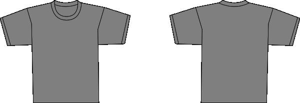Grey Shirt Template Hi Kaos Polos Abu