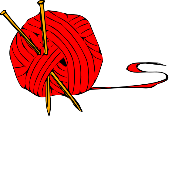 Red Ball Yarn Clip Art at Clker.com - vector clip art ...