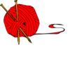 Red Ball Yarn Clip Art