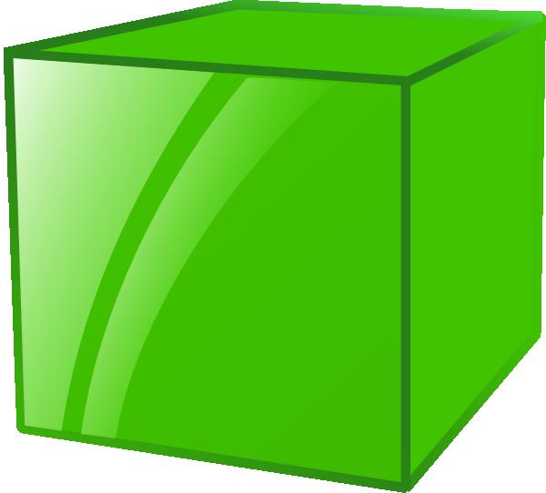 Cube Shape Clipart Cube 2 clip art - vector clip