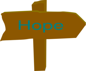 Hope Direction Sign Clip Art