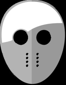 Jason Mask Clip Art at Clker.com - vector clip art online ...