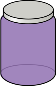 Purple Jar Clip Art