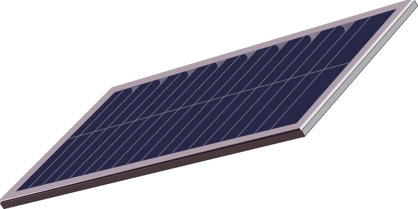 solar panel clip art at vector clip art online. Black Bedroom Furniture Sets. Home Design Ideas