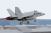 F/a-18 Hornet Launches From Uss Kitty Hawk. Clip Art