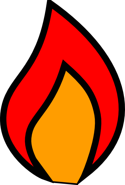 Full Colour Flame Clip Art at Clker.com - vector clip art online ...: www.clker.com/clipart-full-colour-flame.html