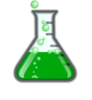 Greenflask/bubbles/invisibox Clip Art