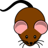 Brown Mouse Lab Clip Art
