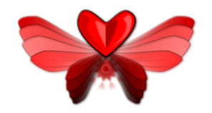 Wing Love Heart Clip Art