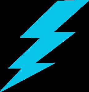 blue lightning bolt clip art at clker com vector clip art online rh clker com Lightning Bolt Drawings Lightning Bolt Clip Art