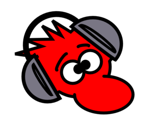 Mouse Wearing Headphones Clip Art