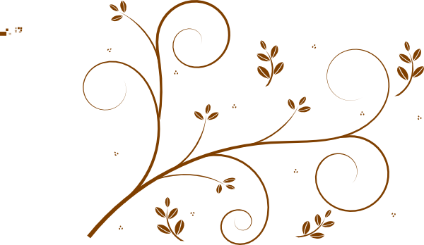 Chain curtain divider - Brown Vine With Leaves Clip Art At Clker Com Vector Clip Art Online