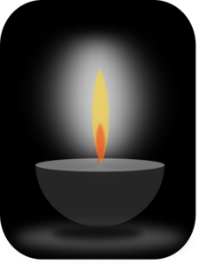 Candle Light Clip Art