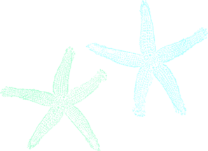 Starfish Wedding Clip Art