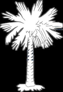 South Carolina Flag Palmetto With No Moon Clip Art at ... Golf Hole Clip Art