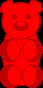 Clip Art Gummy Bear Clipart gummy bear clip art at clker com vector online royalty art