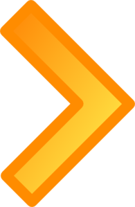 Orange Arrow Clip Art