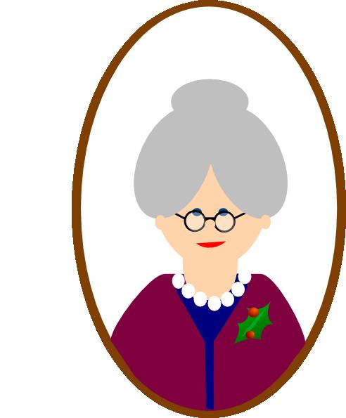 Grandma Clip Art at Clker.com - vector clip art online, royalty free & public domain