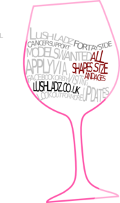 Wine Glass Outline Clip Art