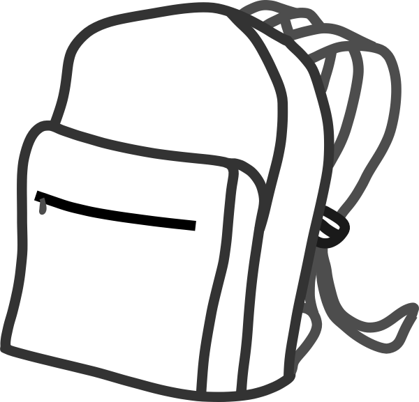 clipart rucksack - photo #1