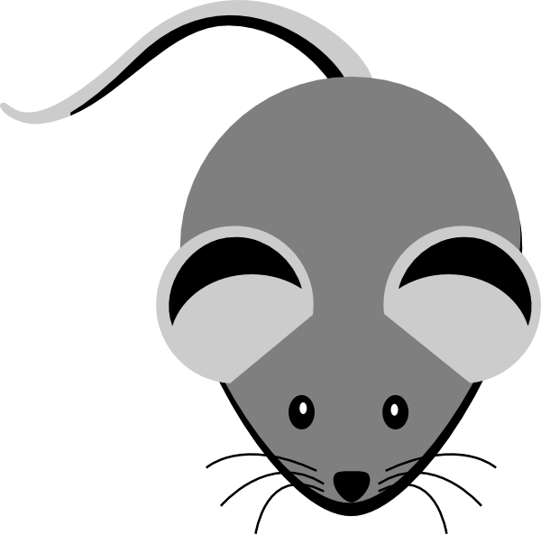 Lab Mouse Cartoon
