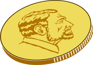 Gold Coin Clip Art at Clker com - vector clip art online, royalty